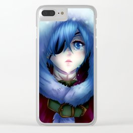 What's wrong Young Master? Clear iPhone Case