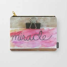 miracle watercolor print Carry-All Pouch