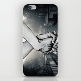 My Hand in Yours iPhone Skin