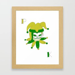 Katie Blaine Logo Framed Art Print