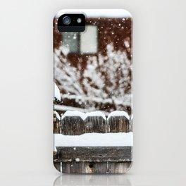 Snow House iPhone Case