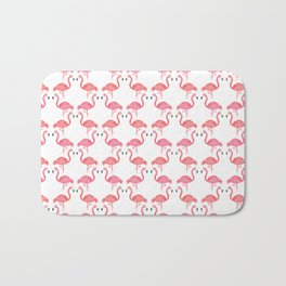 Pink Flamingos on Parade // Collaboration with Brianne Burnell Bath Mat