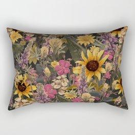Palouse Region Wildflowers Rectangular Pillow