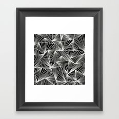 Inverted TriangleAngle Framed Art Print