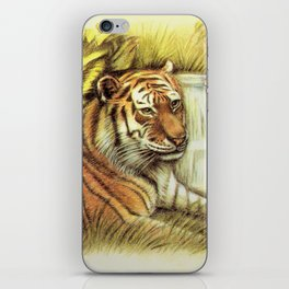 Tiger in free Wilderness iPhone Skin