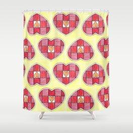 Pinstripes Shower Curtain