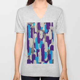 Calm Stripes Overload Unisex V-Neck