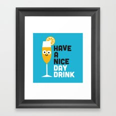Thanks a Brunch Framed Art Print
