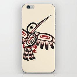 Salish Coast Humming Bird iPhone Skin