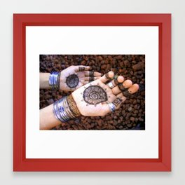 Giving Hands Framed Art Print