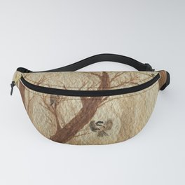 Playful Chickadees Fanny Pack