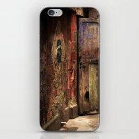 door iPhone & iPod Skins featuring Door by Studio Laura Campanella