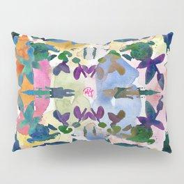 Floral Exclusion  Pillow Sham