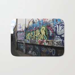 Hare Row - Graffiti  Bath Mat
