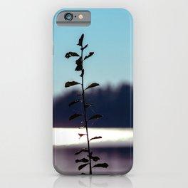 Concept nature : respice finem iPhone Case