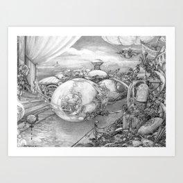 DECEPTION SURPLUS Art Print