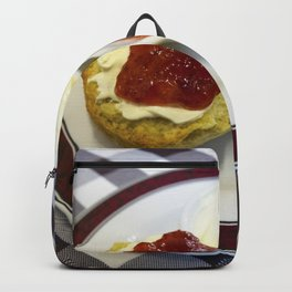 Cream tea for one Backpack