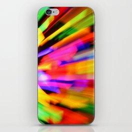 Dancing Colors iPhone Skin