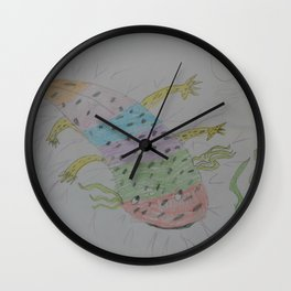 Axie by Lexi Wall Clock