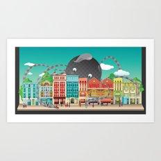 London Shoreditch Art Print