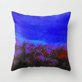 """Moonlight"" Digital Painting // Fine Art Print Throw Pillow"
