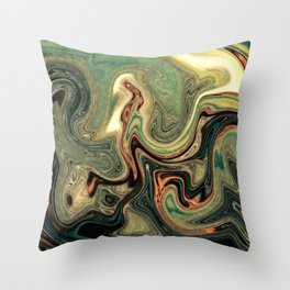 Abstract Painting X.2 Throw Pillow