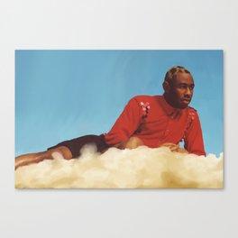 Tyler On The Nimbus Canvas Print
