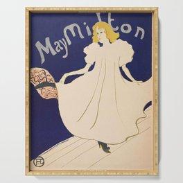 """Henri de Toulouse-Lautrec """"May Milton"""" Serving Tray"""