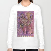 prince Long Sleeve T-shirts featuring Prince by Ray Stephenson