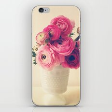 Cottage Flowers iPhone & iPod Skin