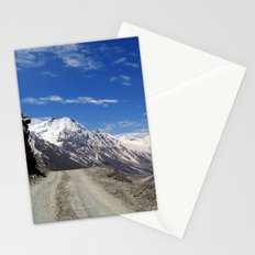 On the Road in Lahaul Valley Stationery Cards