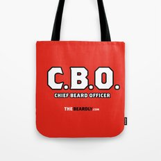 CHEIF BEARD OFFICER  Tote Bag