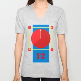 Clock lost Unisex V-Neck