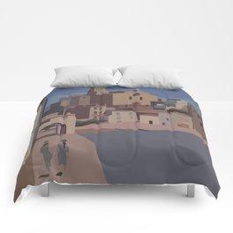 PORT ALGUER - SALVADOR DALI Comforters