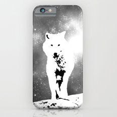 Walking on the moon Wolf iPhone 6s Slim Case