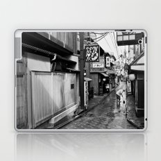 Pontocho in the Morning, Kyoto Laptop & iPad Skin