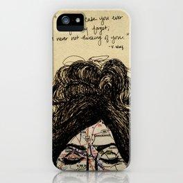 Long Distance Love  iPhone Case
