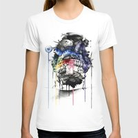calcifer T-shirts featuring Howl's Moving Castle by Sandra Ink