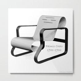 Paimio Chair Metal Print
