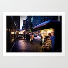 NYC Newsstand  Art Print