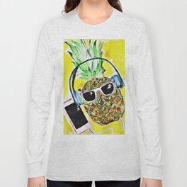 Cool Pineapple Long Sleeve T-shirt