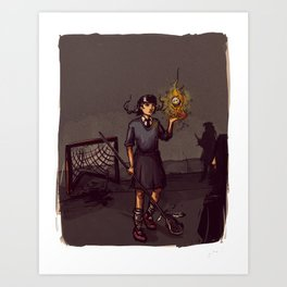 Lacrosse of DOOM Art Print