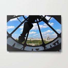 View of Paris from Museum Orsay Metal Print