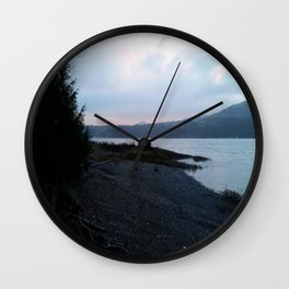 Morning on the Canal Wall Clock