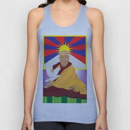 His Holiness Unisex Tank Top