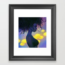 sour Framed Art Print