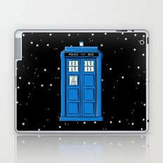 TARDIS in Space Laptop & iPad Skin