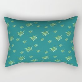 Island Camo Pattern Rectangular Pillow