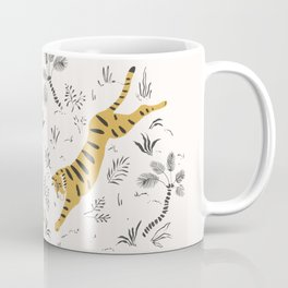 Tiger Dive Coffee Mug
