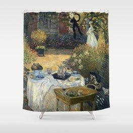 Claude Monet - The luncheon Shower Curtain